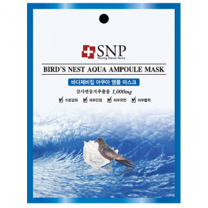 SNP Bird`s Nest Aqua Ampoule Mask